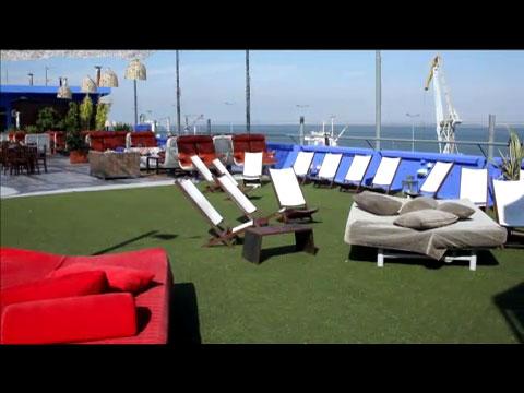 O terraço deste Verão