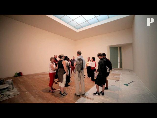 Visitar um museu sem exposições. Em Serralves é possível