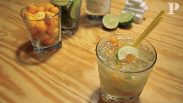 Caipirinha com o qu? Kumquat