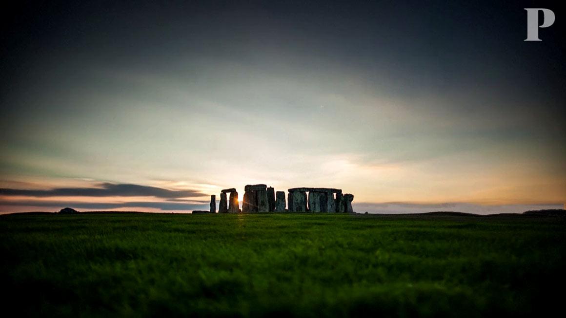 O novo centro de visitantes de Stonehenge