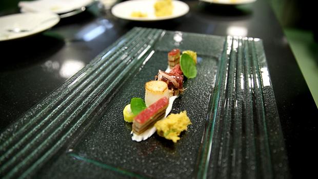 Terrina de vitela e foie gras pelo chef Ricardo Costa