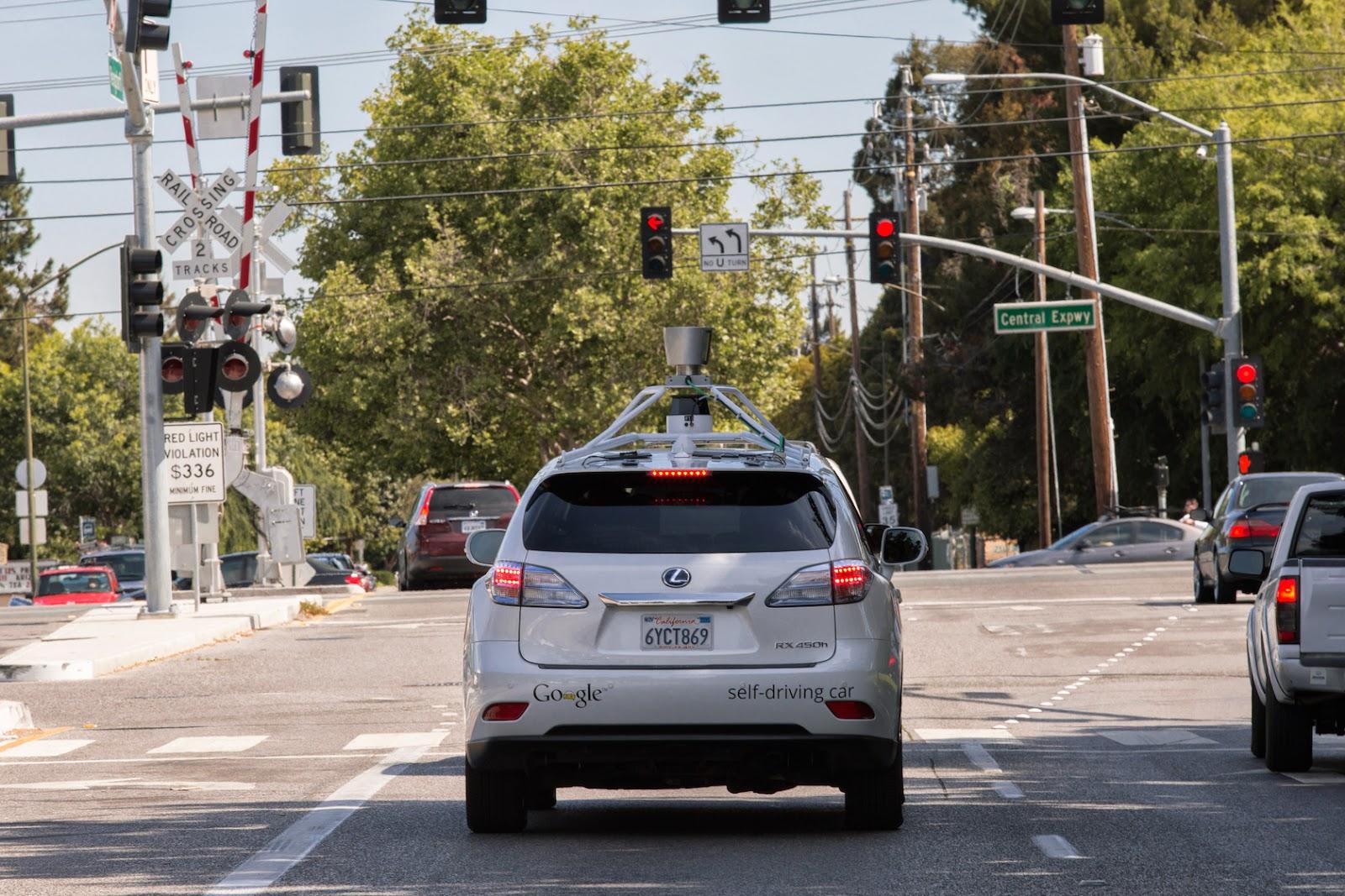 Carro sem condutor do Google