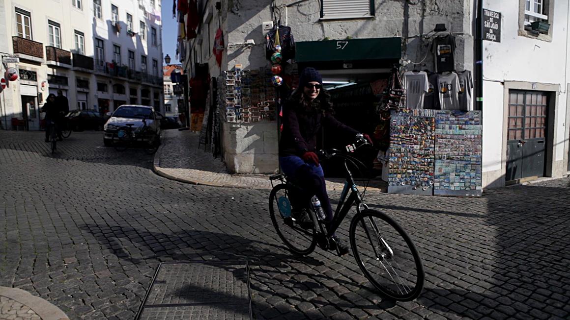 De bicicleta por Lisboa, da ciclovia ao bairro histórico