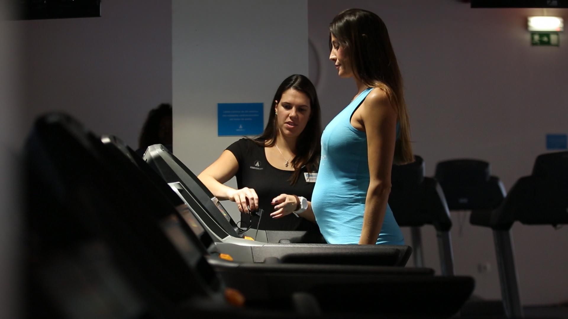 Exercício para grávidas: o aquecimento