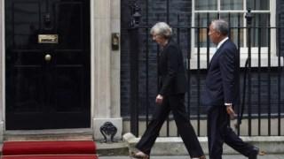 Encontro entre a primeira-ministra britânica e o Presidente português na quarta-feira