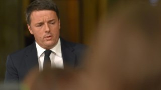 Renzi, quando avaliou os resultados do referendo e disse que saía do governo