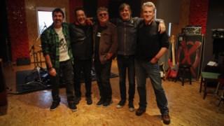A banda na apresentação do seu último álbum de originais, <i>Puro</i>, em 2014