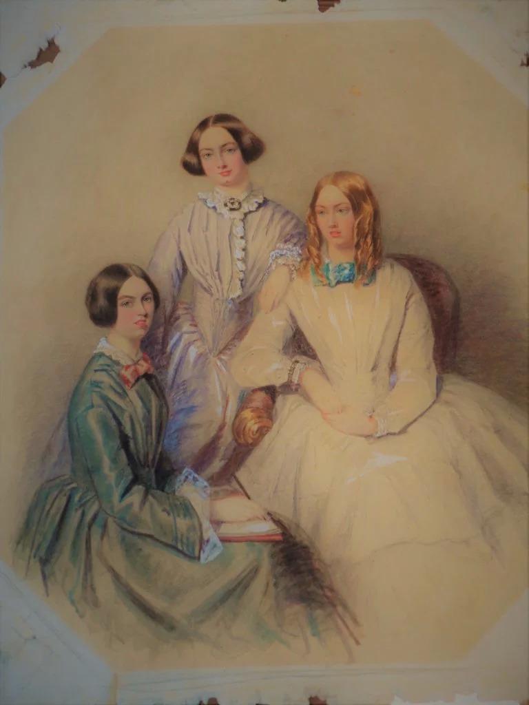 Retrato raro das irmãs Brontë pode ser leiloado por 45 mil euros | Livros |  PÚBLICO