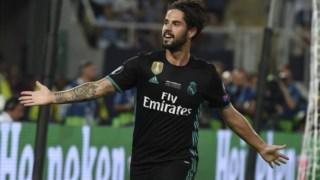Isco apontou o golo que valeu o triunfo ao Real Madrid