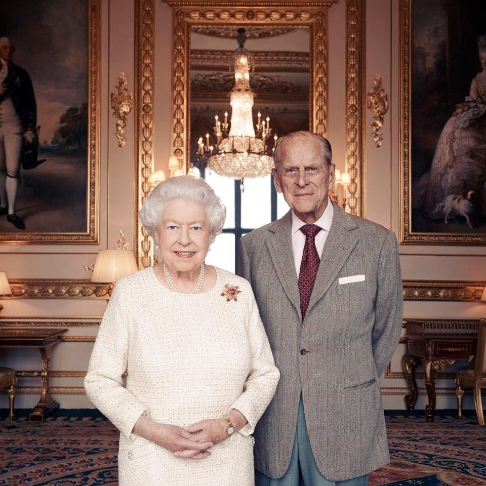 Rainha De Inglaterra E Duque De Edimburgo Celebram 70 Anos