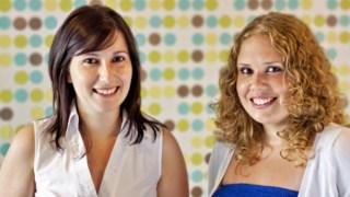 Cláudia Ferraz e Patrícia Silva são licenciadas em Comunicação MultimédiaDR
