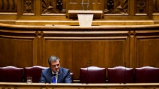 """Para o ministro, """"o que é inegociável é o objetivo de Portugal no próximo ano ter 4,5%"""" Rui Gaudêncio"""