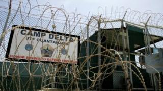 Entrada do campo Delta de Guantánamo