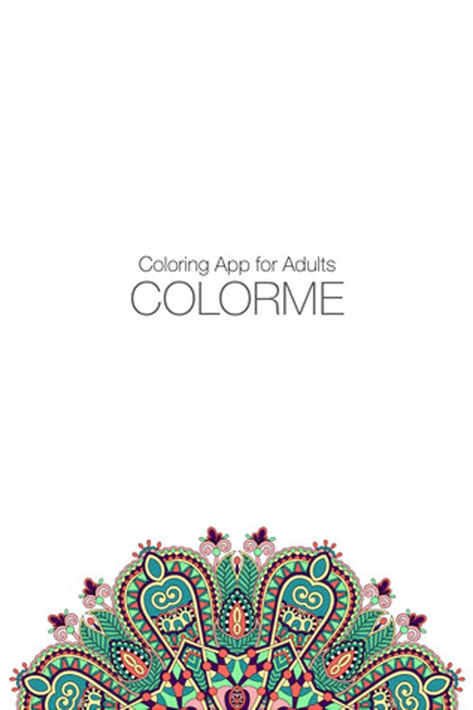 A Moda Dos Livros De Colorir Para Adultos Também Em Apps
