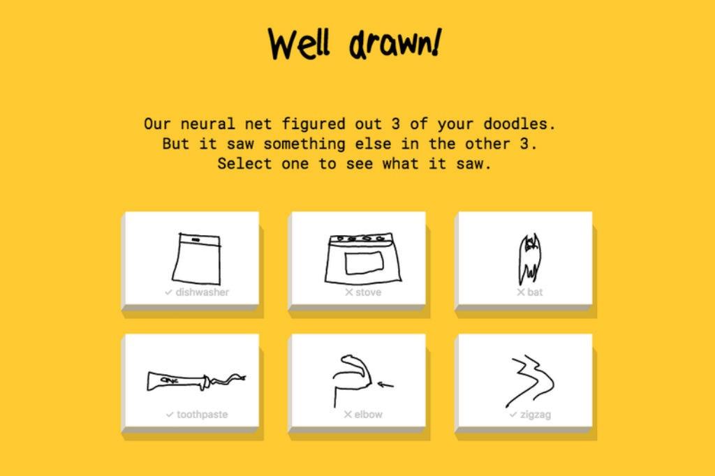 E Um Gato Uma Vassoura Nao E O Quick Draw Do Google Micro Publico