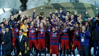 Luis Suárez, Lionel Messi, Copa do Mundo de Clubes da FIFA 2015, FC Barcelona, ??Real Madrid CF, Final da Copa do Mundo de Clubes da FIFA 2015, Liga dos Campeões da UEFA, Club Atlético River Plate