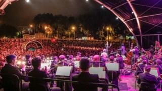 Concerto da Orquestra Sinfónica do Porto com Gregory Porter, no Verão de 2017, em Matosinhos