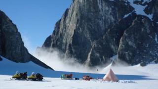 Geleira, antártica, terra, gronelândia