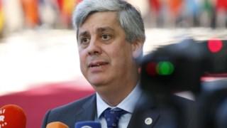Mário Centeno, à entrada para a cimeira do euro desta sexta-feira