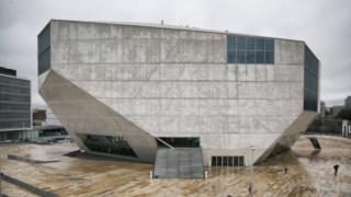 Fachada, arquitetura brutalista