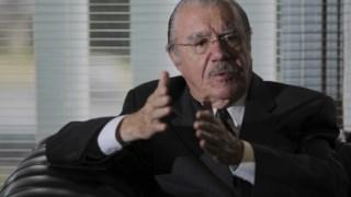 Seis décadas depois, a família do antigo Presidente José Sarney (na fotografia) não terá nenhum representante nem em Brasília nem no governo do Maranhão
