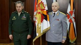 Ministro da defesa em cerimónia de homenagem a Igor Korobov