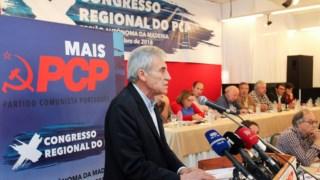 Jerónimo de Sousa encerrou este domingo o Congresso do PCP na Madeira