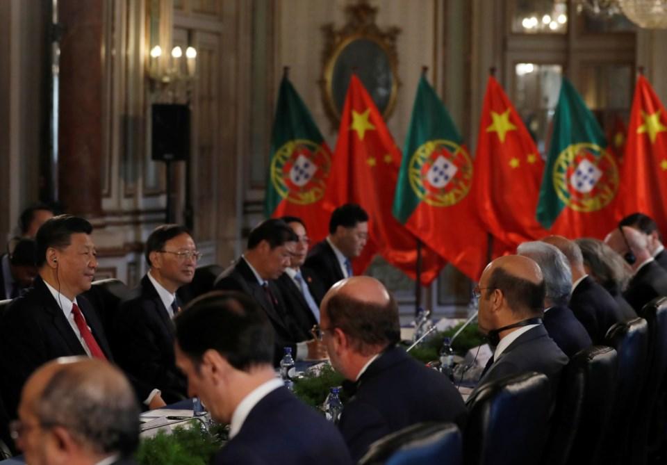 Os 17 acordos assinados na visita de Xi Jinping a Portugal