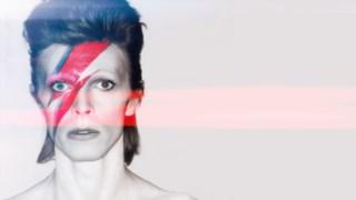 David Bowie enquanto Ziggy Stardust