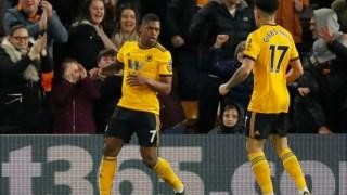 Ivan Cavaleiro marcou o golo do triunfo do Wolverhampton