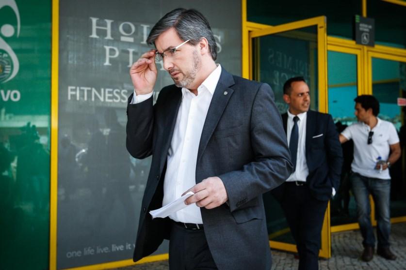 Bruno de Carvalho apresentou recurso de expulsão de sócio do