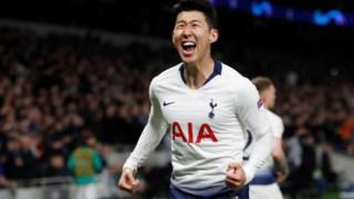 Son Heung-min foi o herói do Tottenham