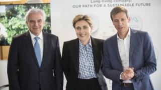 Cláudia Azevedo, a nova CEO da Sonae, cargo anteriormente repartindo por Paulo Azevedo e Ângelo Paupério