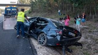 O acidente poderá ter sido causado pela fadiga de Pedro Santana Lopes, que ia aovolante do carro