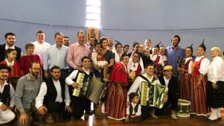 Cristas fez uma visita de uma semana ao Brasil, onde esteve com as comunidades madeirenses