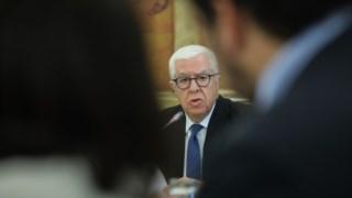 O antigo ministro das Finanças está a ser ouvido pelos deputados