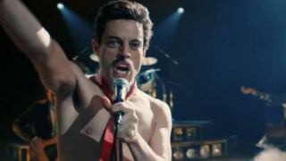 Não é Freddie Mercury que vemos, é Rami Malek a esforçar-se para ser Freddie Mercury