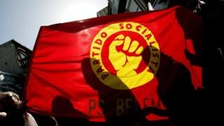 Bandeira do PS (arquivo)