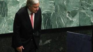 António Guterres diz ser difícil convencer alguns Estados-membros a aceitar transformações nas Nações Unidas