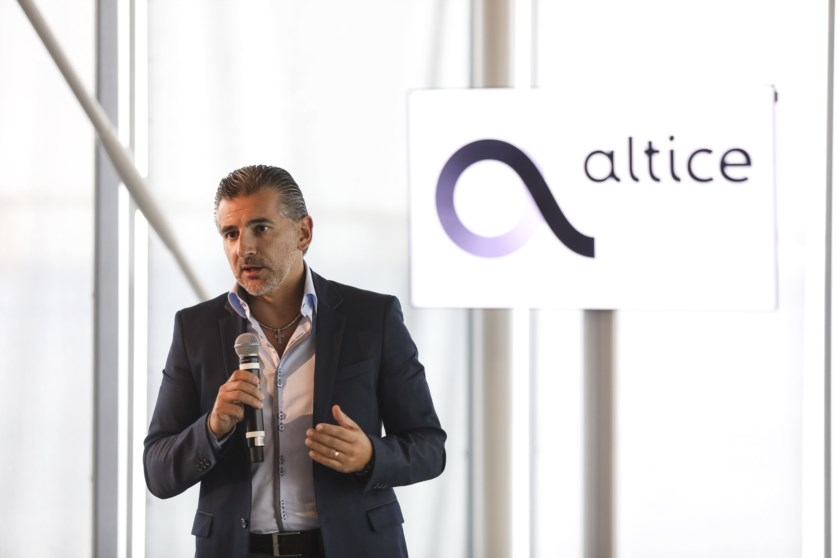 A Altice é liderada por Alexandre Fonseca