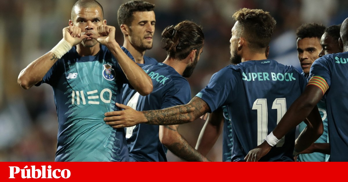 FC Porto recorre a Pepe e acaba com azar de Díaz