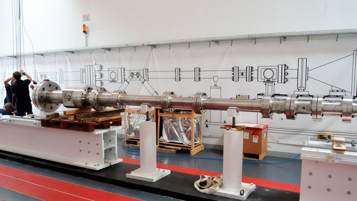 Tubo para testar chegada a planetas gasosos inaugurado em Portugal