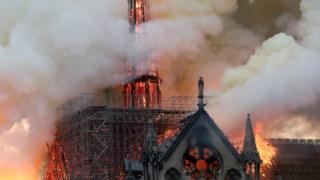 Incêndio na catedral de Notre-Dame (Paris), no dia 15 de Abril