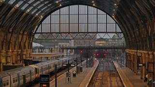 Estação de King's Cross, em Londres