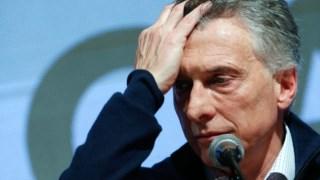 O rosto da derrota de Mauricio Macri