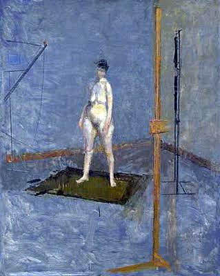 """""""Standing Nude"""" (circa 1952-23) vai ser uma das obras na exposição """"Victor Willing: Visions"""""""