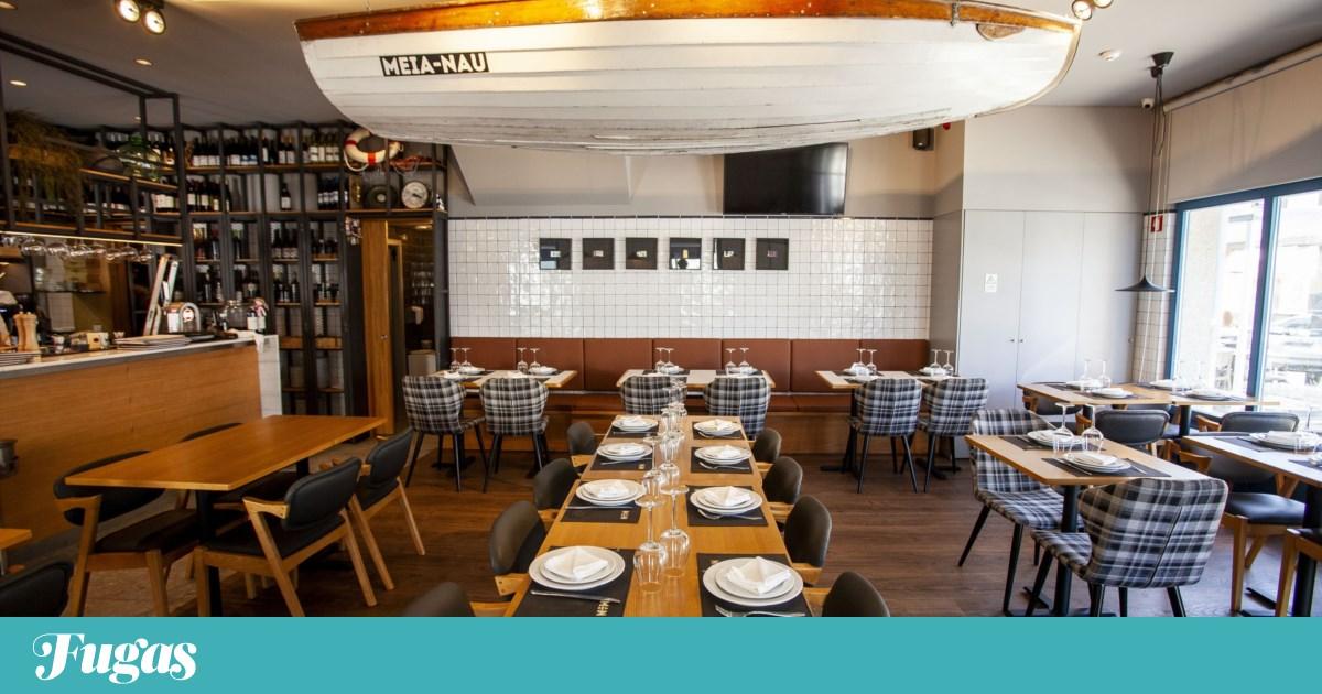 Meia-Nau: Neste restaurante de Matosinhos há boa grelha e a sardinha pinga no pão