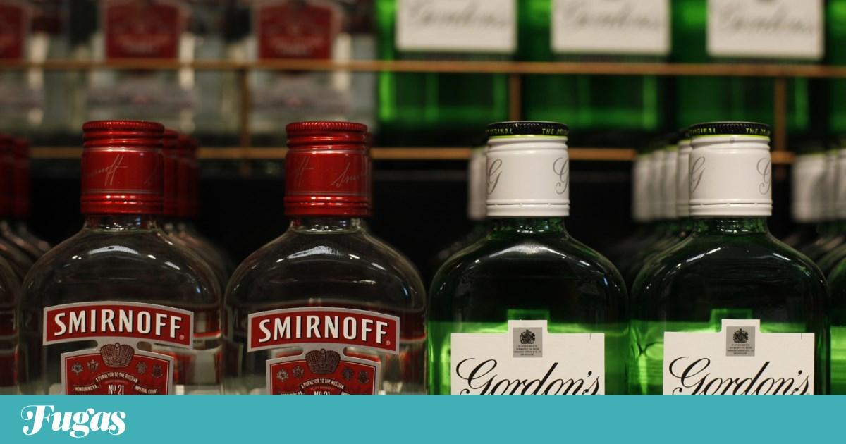 Um hino à Smirnoff, ao Bacardi e ao Gordon's, esses nomes que tiram toda a pinta a quem os pronuncia