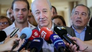 Rui Rio falou aos jornalistas sobre degradação de serviços públicos