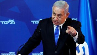 O chefe do Governo israelita também lançou um aviso ao Irão